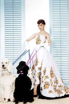 Audrey Hepburn in a design by Edith Head