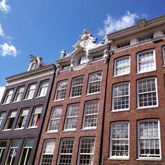 Cute houses of #amsterdam