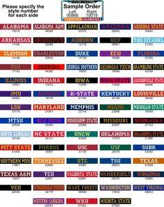 College team colors