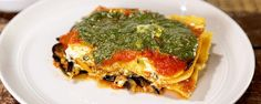 Don't miss out on making Daphne's amazing vegetarian take on a traditional lasagna.