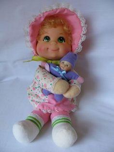 Mattel Bean Bag Dolls 1970 Mattel Vintage Baby Beans