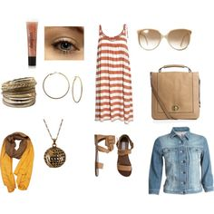 Casual, created by dedeecampbell on Polyvore