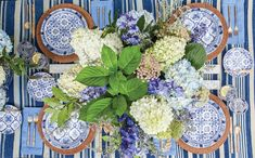 Blue-and-White Decor for Every Room - Flower Magazine