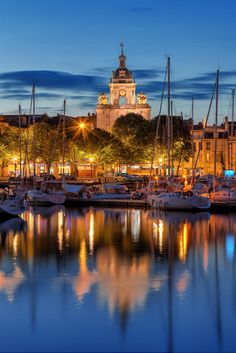 Blue Hour - La Rochelle, France