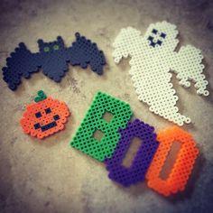 Halloween perler beads by rikapico