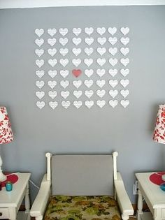 24 - Use heart elements or create ones with paper and make your layout background filled with hearts. - 1 pt
