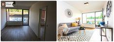Home Staging nezařízeného bytu k pronájmu v Praze #Praha #Prague #czech #homestaging #homestagingprague #praguehomestaging #homestagingcz #pred #po #before #after #white #walls #apartment #obyvacipokoj #cz #czechrepublic #livingroom #yellow #grey #doplnky #modern