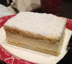 Biergarten's Bavarian cheesecake recipe. A great dessert choice for a Snow White themed dinner or movie night.