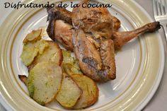 Deliciosa receta de Picantones de Disfrutando de la Cocina