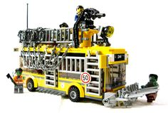 Taking ordinary LEGO sets and turning them post-apocalyptic: Death Bus | Flickr - by Nick.