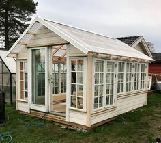 "Explore our site for additional information on ""greenhouse plans design"". It is actually an exceptional location to find out more. Diy Greenhouse Plans, Window Greenhouse, Backyard Greenhouse, Small Greenhouse, Backyard Sheds, Backyard Landscaping, Garden Sheds, Garden Structures, Outdoor Structures"