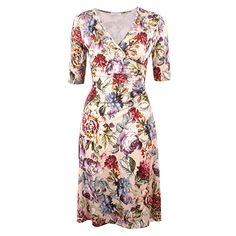 Davis Ruby Beige von KD Klaus Dilkrath #kd #dilkrath #kd12 #klausdilkrath #outfit #davis #ruby #beige #kleid #dress #flower #vintage #antik #summer #readytowear