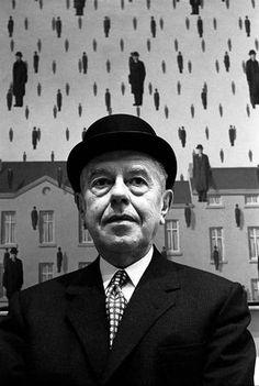 Rene Magritte.. Foto: Steve Schapiro