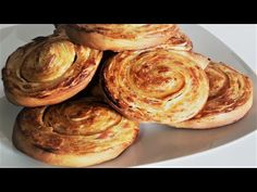 Baked pastry rolls with cheese and sausage Sausage, Muffin, Rolls, Butter, Cheese, Baking, Breakfast, Youtube, Food