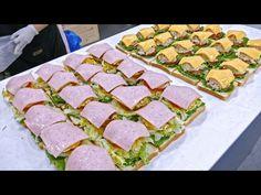 Korean Sandwich Recipe, Sandwich Recipes, Panini Sandwiches, Diy Food, Tuna, Love Food, Buffet, Tacos, Brunch