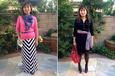 2 ways to wear a scarf