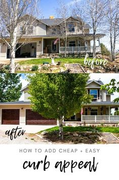 Looking for inexpensive easy ways to spruce up the exterior of your home? I've got you covered! Great ideas with before and after photos! via @longbournfarm Victorian Terrace Interior, Interior Garden, Garden Bar, Terrace Garden, Herb Garden, Raised Vegetable Gardens, Botanical Gardens Wedding, Australian Garden, Garden In The Woods