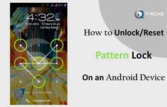 How To Unlock Or Bypass Android Pattern Lock Without Losing Data - http://www.qdtricks.org/unlock-android-pattern-lock/