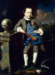 John Singleton Copley: Portrait of a Boy, c.1758.
