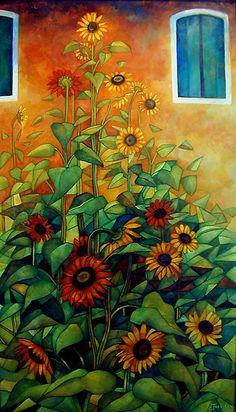 sunflowers..elisabetta trevisan