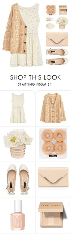"""""""Apricot Spring"""" by sweetpastelady ❤ liked on Polyvore featuring Rachel Antonoff, Forever New, Accessorize, Essie, Bobbi Brown Cosmetics and Christian Dior"""