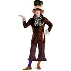 Alice In Wonderland Movie - Prestige Mad Hatter Teen Costume Get up to 15% When you spend $50 at Buy Costume using Coupons and Promo Codes.
