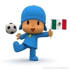 Mexican Pocoyo Football Player