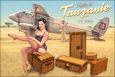 Critique d'album : Pin-Up Wings - Tome 4, Romain Hugault, collection Cockpit (Paquet)