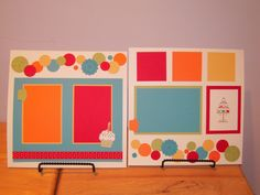 Birthday Scrapbook P