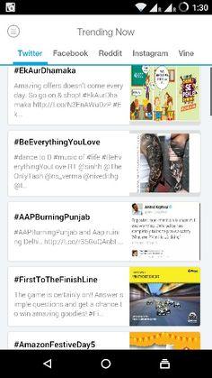Top trends in this hour on #Twitter (India)  #EkAurDhamaka  #BeEverythingYouLove  #AApBurningPunjab  #FirstToTheFinishLine  #AmazonFestiveDay5  Get #trendstoday app for more updates.
