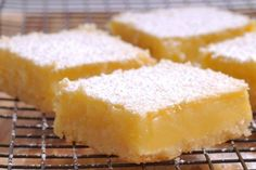 Cannabis Lemon Bars. Two of my favorites in life. Cannabis and Lemons.