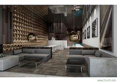 Agence Dai Sugasawa designed the 'Restaurant Lounge' in Japan. http://en.51arch.com/2014/07/i0112-restaurant-lounge/