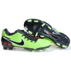 ffbfc7455 Nike Total 90 III FG Soccer Shoes In Green Black