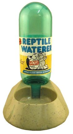 Lixit Corporation SLX0325 Reptile Waterer, 16-Ounce(Assorted color ) ** You can find more details by visiting the image link. (This is an affiliate link and I receive a commission for the sales)