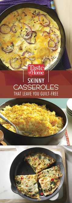 Skinny Casseroles That Leave You Guilt-Free (from Taste of Home)