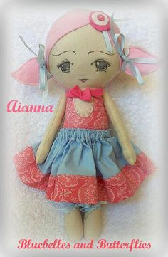 Bluebelles and Butterflies dolls https://www.facebook.com/pages/Bluebelles-and-Butterflies/132667526841428