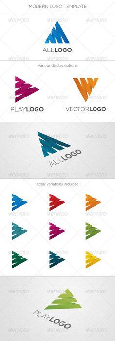 Play Letter Logo - Logo Templates