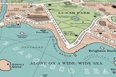 Map of the City Where Every Novel Takes Place | Electric Literature