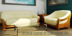 Interior Lighting by using mental ray