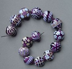Corina Tettenger - lampwork beads