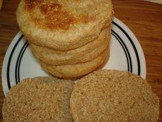 Whole Wheat English Muffins - Bread Machine Recipe!