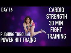 Cardio Strength 30 Min Fight Training PT - YouTube