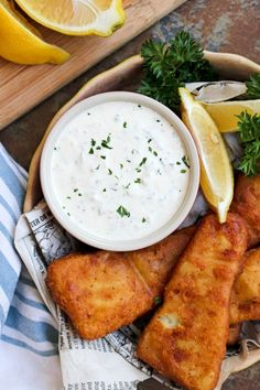 5 Minute Homemade Tartar Sauce is made with just five ingredients and comes together in less than five minutes. You will never buy the bottled stuff again! #tartarsauce