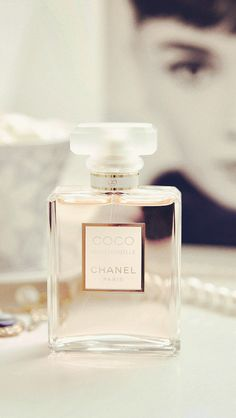 Chanel wallpaper pinned by TheChanelista on Pinterest Tropical