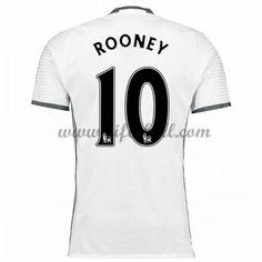 Billiga Fotbollströjor Manchester United 2016-17 Rooney 10 Kortärmad Tredje Matchtröja