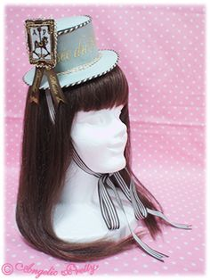 Angelic Pretty Musee du Chocolat Top Hat in mint