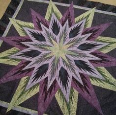 Feathered Star, Quiltworx.com, Made by Kathy Richardson