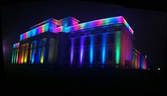 Auckland Museum donning rainbow colours to mark Auckland's Pride Festival