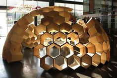 honeycomb partial structure, dome home, lifestyle concept summer-fall 2011 Architecture Design, Pavilion Architecture, Sustainable Architecture, Residential Architecture, Contemporary Architecture, Architecture Diagrams, Architecture Portfolio, Landscape Architecture, Dome Structure
