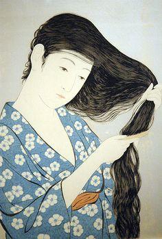Japanese Prints #illustration #print #japanese